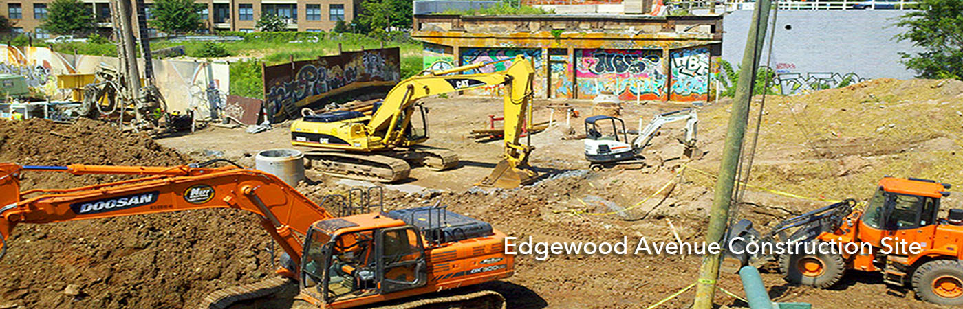 Edgewood Avenue Construction Site